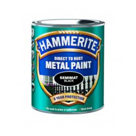 Hammerite Semimat Finish Black