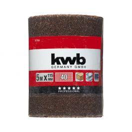 KWB Slippapper minirulle