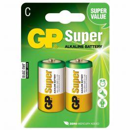Batteri GP Super Alkaline C LR14