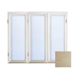 Sidohängt träfönster 2-glas Outline