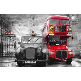 Tapet Taxi & Bus Giant Art W+G