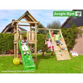 Lektorn House med Klättermodul Jungle Gym