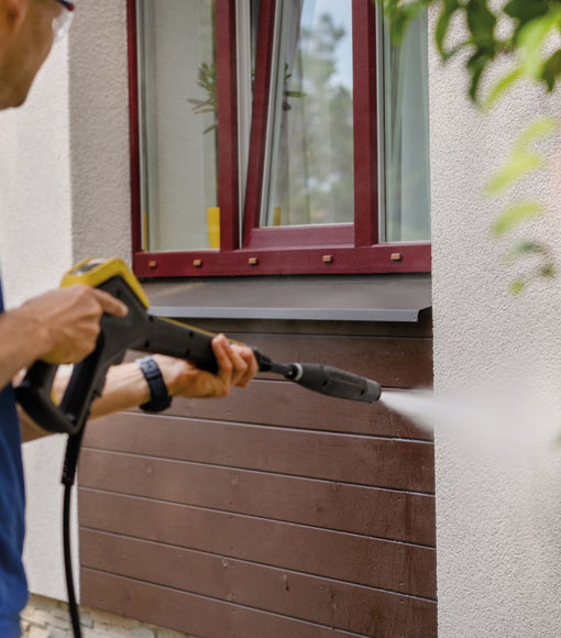 Tvätta fasad  | Byggmax